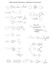 Reactions(ALKENES)Ans