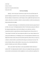 English 1101 - The Future of Reading (Final Draft).docx