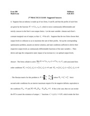 Cramer's Rule Problems and Answers