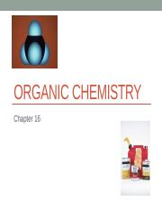Chapter 16 - Introduction to Organic Chem + Alkanes.pptx