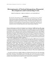 11.Determinants of vertical integration.pdf