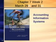 Chapter 7 Week 2 Spring 2010 Revised