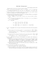 Problem set 3 and solutions