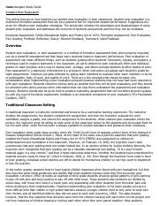 Student Peer Evaluation Research Paper Starter - eNotes