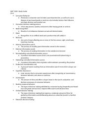 MKT 3305- study guide test one.docx