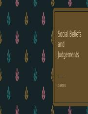 Chapter 3 Social Beliefs and Judgements.pptx