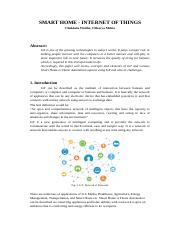 CAO research paper- Smart Home.docx
