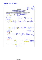 Integrals of Inverse Trig. functions