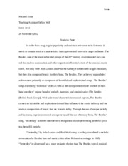 The Beatles Analysis Paper.docx