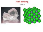 student chem 214 Lecture 7, Ionic bonding