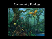 Lecture 21 Community ecologybb