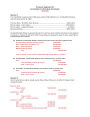 Microsoft Word - ACCT311_HomeworkAssignment2_Solution