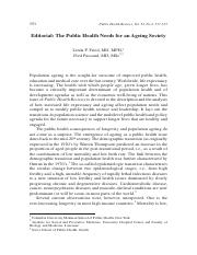 Week 2 - The Public Health needs of ageing society_Linda Fried.pdf