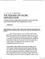 The Trauma of Facing Deportation - The New Yorker.pdf