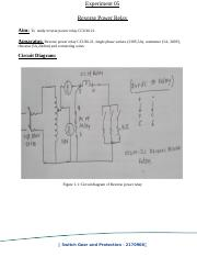 06 differential relay Practical 06 Study of Differential Relay