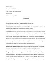 Criminal Law and Procedures-Assignment#4.docx