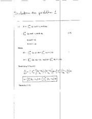 Homework B Solutions on Aerodynamics
