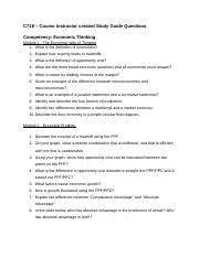 C718 Study Guide Questions - Nerissa.docx
