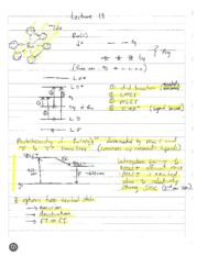 Lecture 19 and 20 Notes