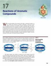 Ch 17 - Reactions of Aromatic Compounds
