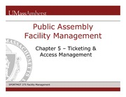 Ch 5 Ticketing and Acess Management