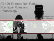 COYNE AT406 Non Radar Rules-Phraseology (Fall 2015)-1