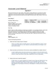 hca 240 appendix c Appendix a: guide to online  appendix c: example implementation plan appendix d: additional readings  section 3 measuring emergency department performance.