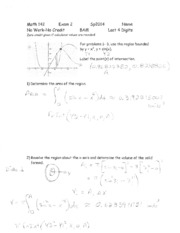 Exam solutions (2)