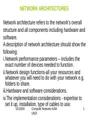 03 Network Operating System ppt - LAN DESIGN AND