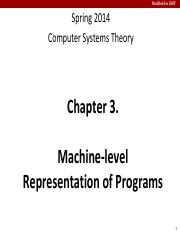 CSPP-Chap3-Machine-level Representation of Programs