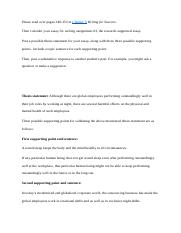 writing assignment research supported cause effect essay most popular documents for english 2298