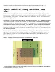 MySQL_Exercise_08_Joining_Tables_with_Outer_Joins