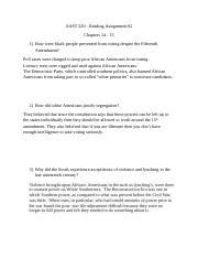 AAST 220 - Reading Assignment  - 2.docx