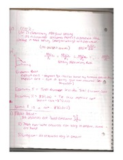 Econ Notes: Chap. 6-7