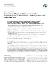 Bovine Serum Albumin and Chitosan Coated Silver.pdf