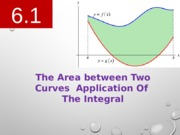 6.1 The Area between 2 curves.pptx