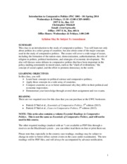 Syllabus Comparative Politics Fall 2015(1)