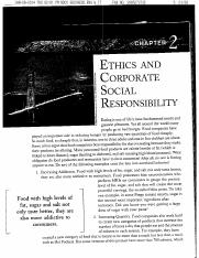 Beatty 5th Ed Chapter 2 Business Ethics
