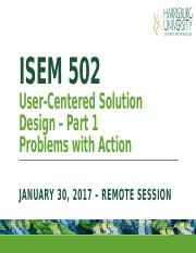 ISEM 502 - Week 4 - Jan 30.pptx