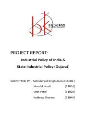 industrial policy and state industrial policy.docx