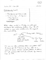 Lecture Notes 34
