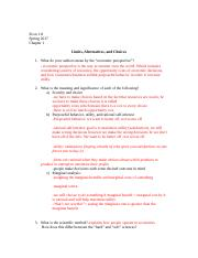 E111Sp17.C1. Limits. Alternatives, and Choices.doc