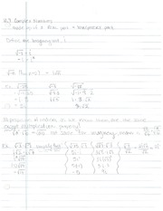 10.7, Complex Numbers