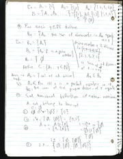 Notes on the definition of Natural numbers