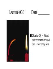 Lecture 36, Ch. 39.ppt