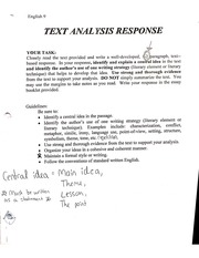 text analysis notes