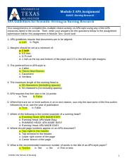 N4325 Module 2 APA guidelines assignment Test for CH.docx