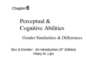 Psych 119 - chapter 6
