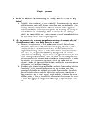 Ch6 Question