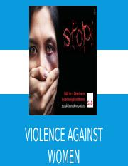 Women Against Violence.pptx